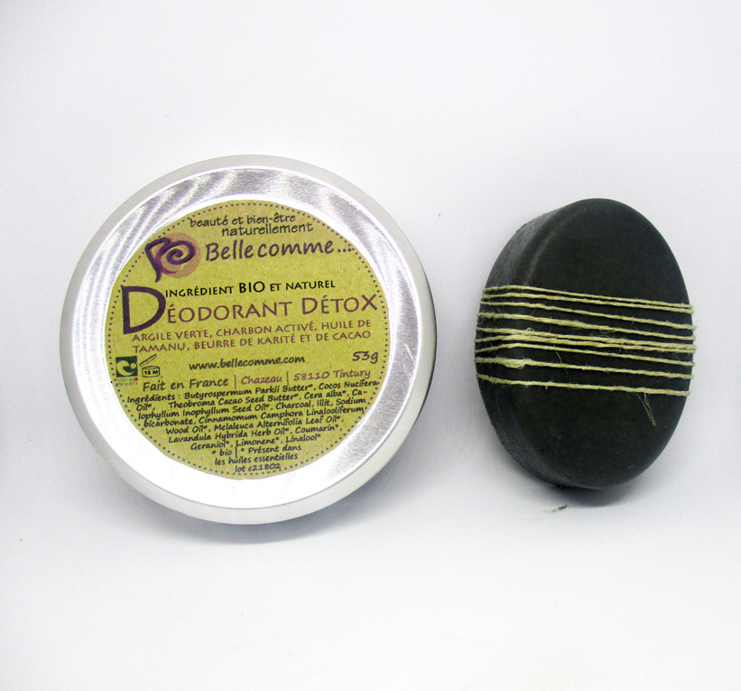 Déodorant bio et naturel Bellecomme